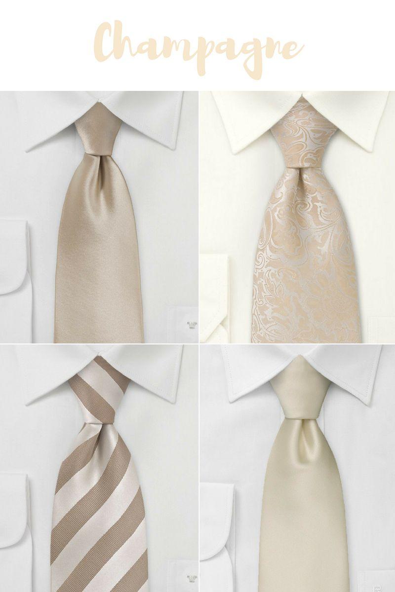 Trending Wedding Colors for 2017: Men\'s Neckties