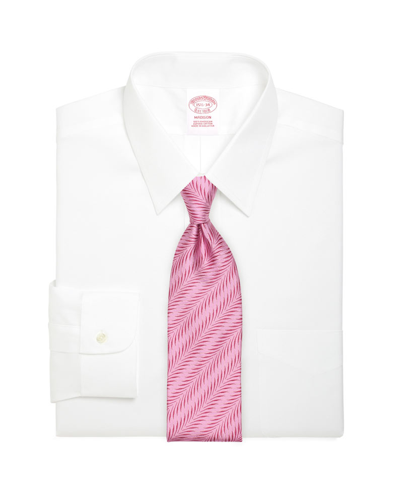 Texturized Tie in Carnation Pink