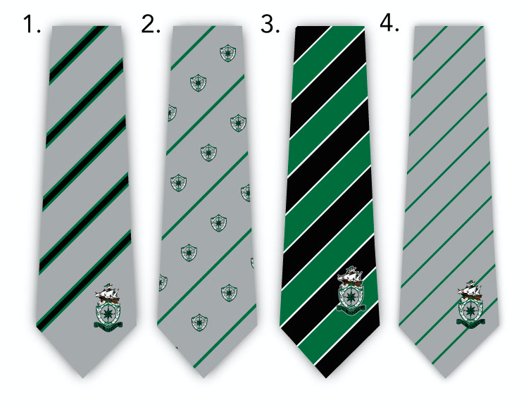 custom embroidered logo mens ties