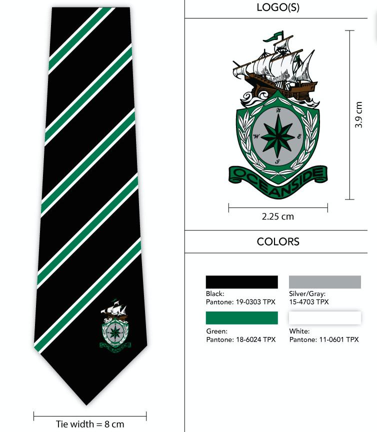 logo necktie design template