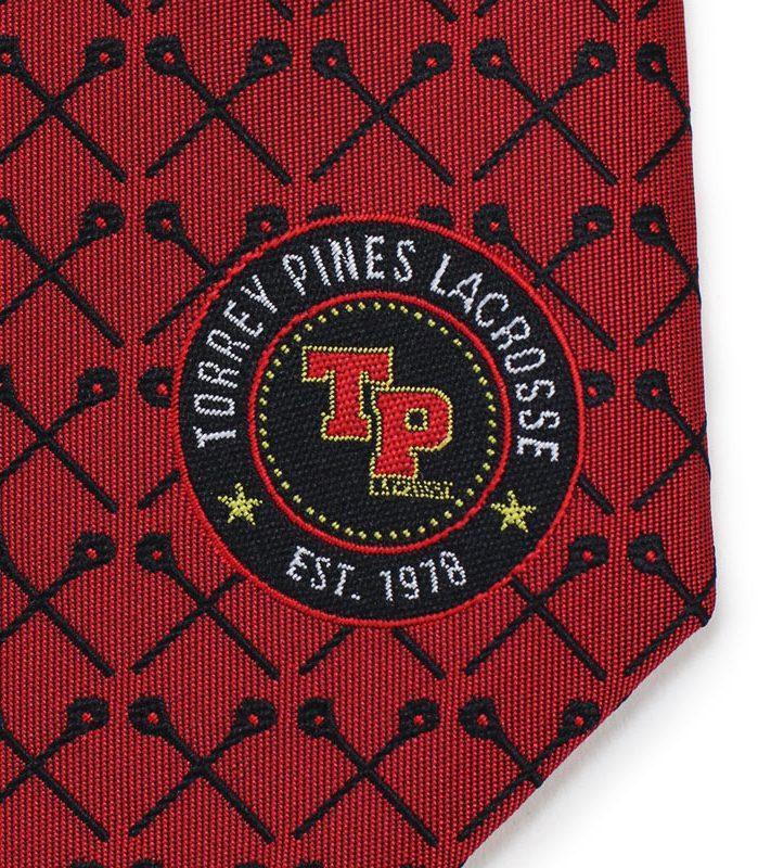 detailed logo neckties custom designs