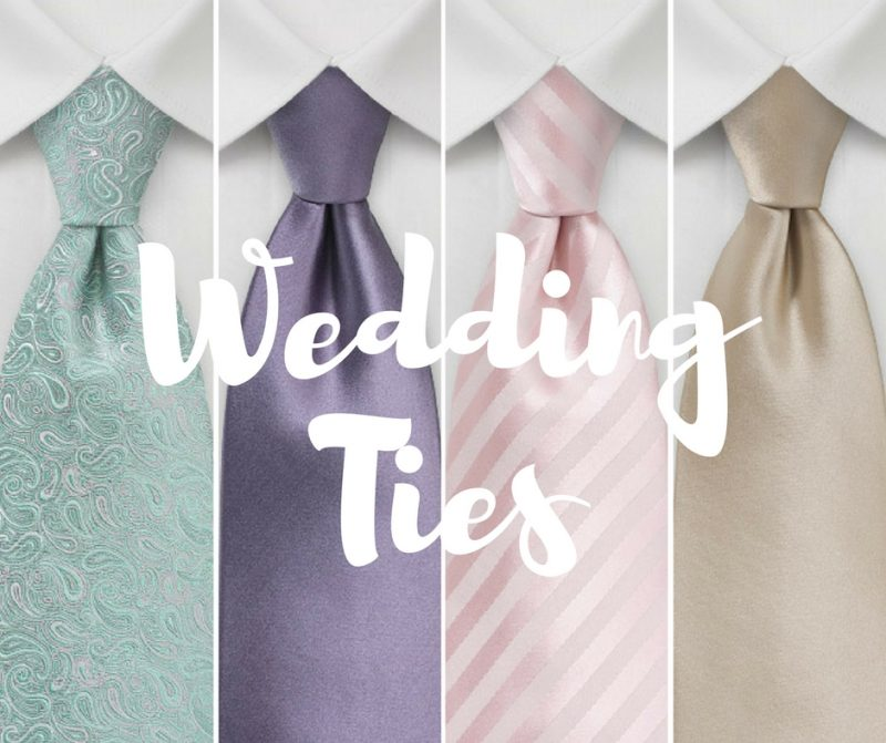 Spring & Summer Wedding Neckties