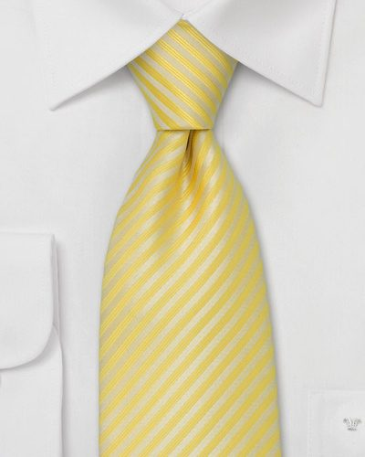 Primrose Yellow Neckties For Men