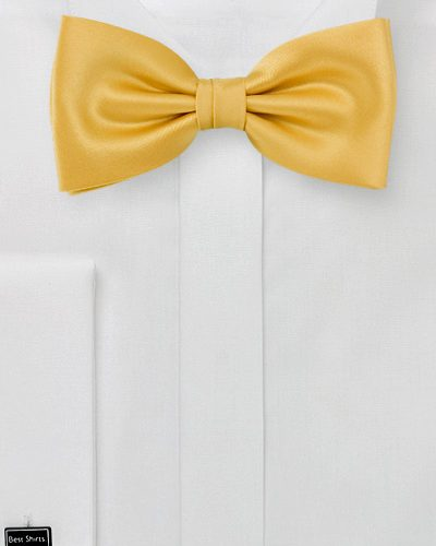 Primrose Yellow Bow Tie For Men
