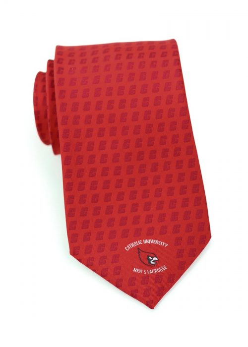 Custom Embroidered Logo Necktie for School