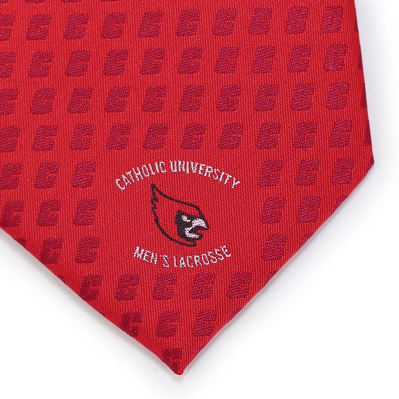 custom catholic school logo necktie