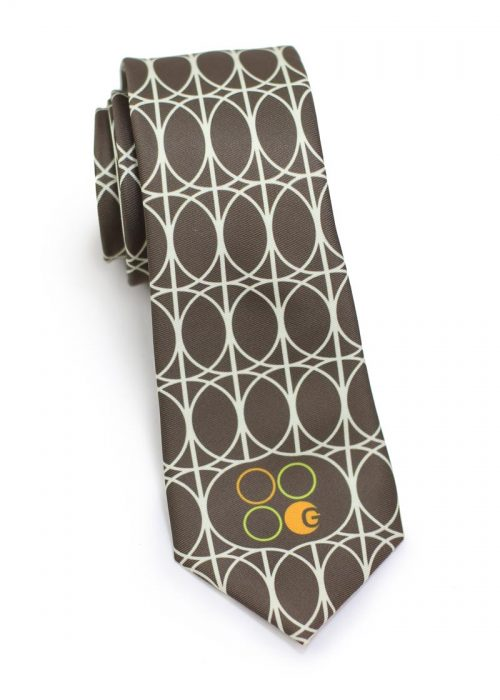 Vintage Custom Necktie For Restaurant Wait Staff