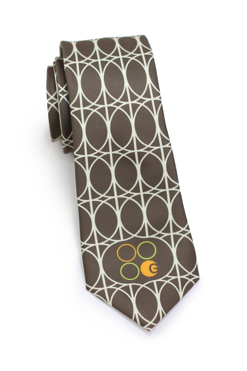 custom logo necktie for restaurant wait staff