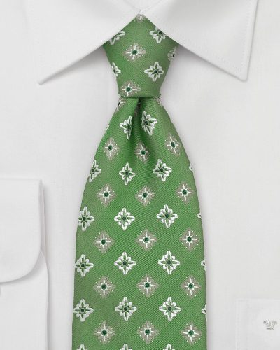 Menswear Color Of The Month - Greenery Neckties + Bow Ties