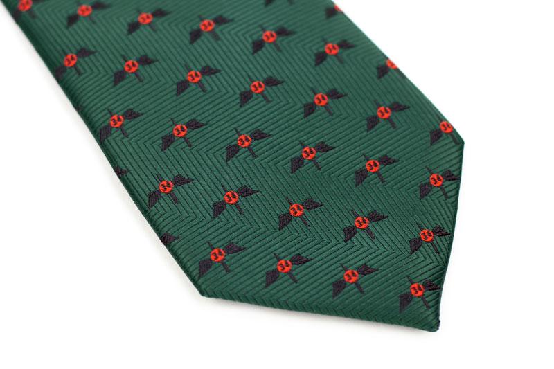 custom all over logo necktie