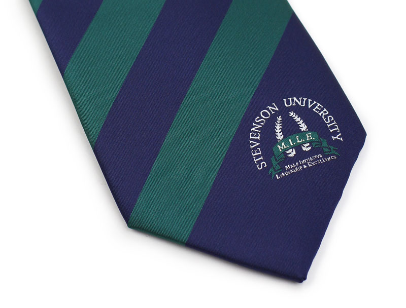 school logo neckties custom
