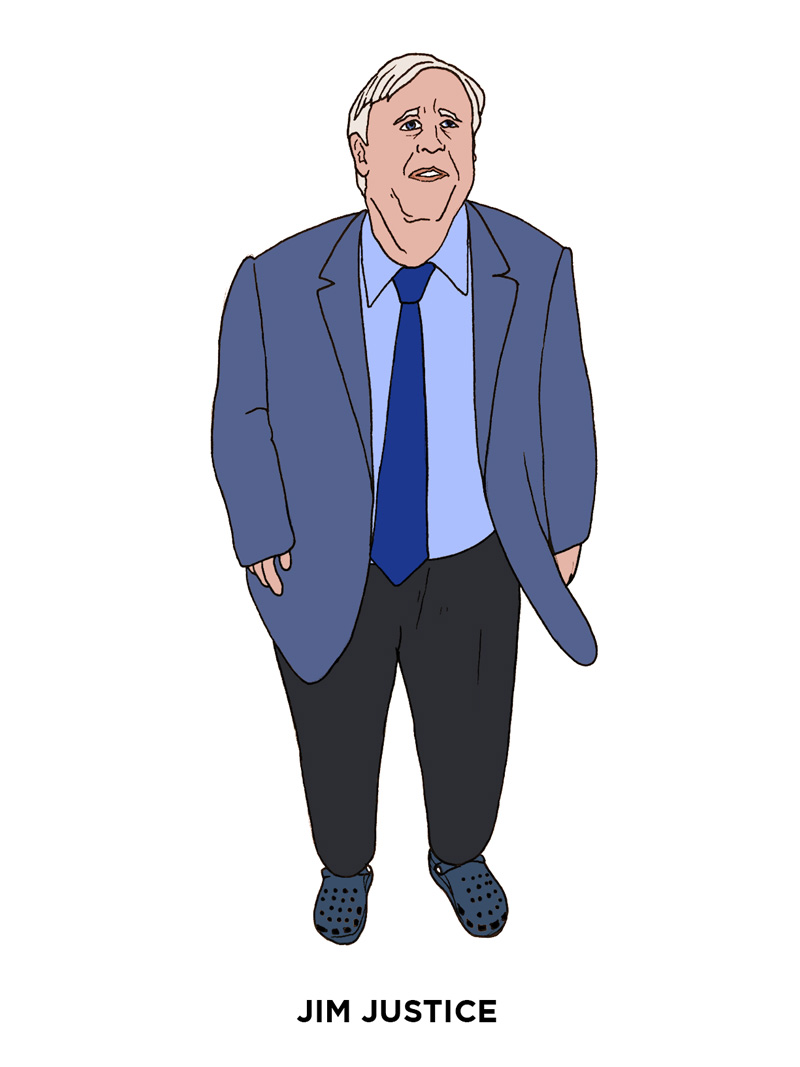 Jim Justice - Worst Dressed Politicians