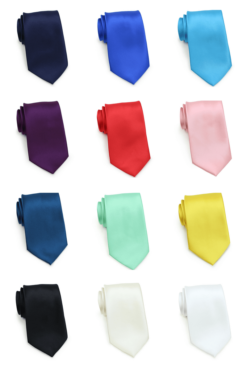 Most Popular Solid $5 Neckties: Cheap-Neckties.com