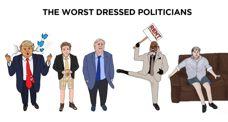 Top US Politicians With The Worst Style