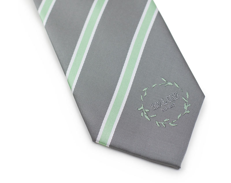 custom wedding tie