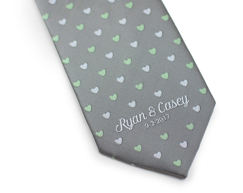 custom design wedding ties