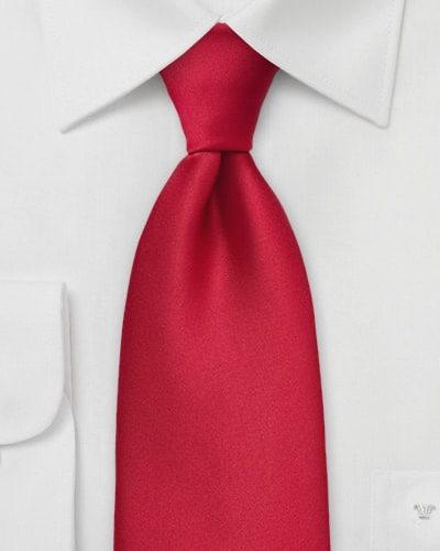 Cherry Red Power Tie