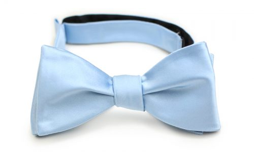 Freestyle Bow Tie in Light Blue