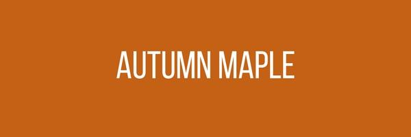 Menswear Color Of The Month - Autumn Maple Orange