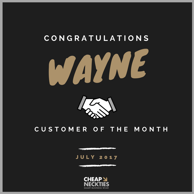 Congrats To Our July Customer of the Month