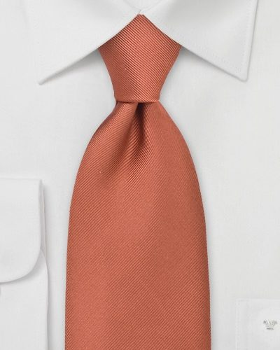 Autumn Orange Necktie