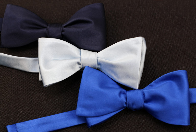 Popular Solid Colors Available in Self Tied Bow Ties