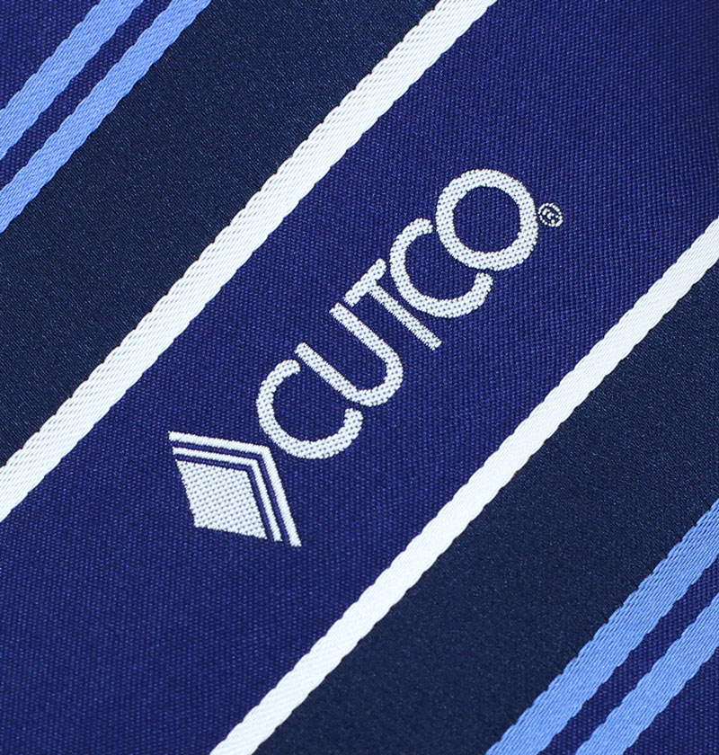 custom woven striped neckties with logo