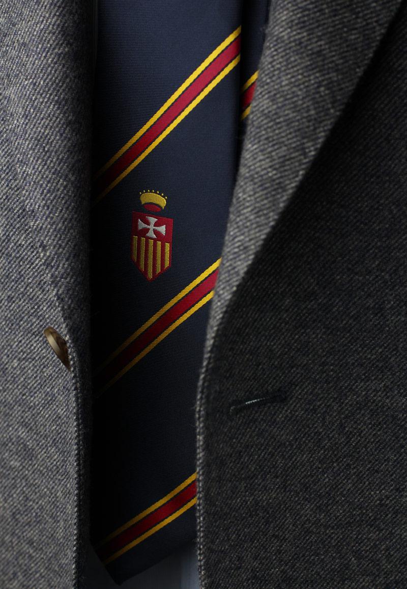 Custom School Uniform Striped Tie