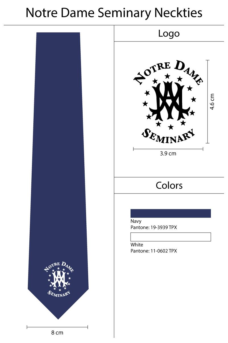 custom single logo necktie