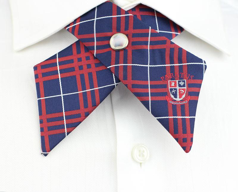 custom logo cross ties girls
