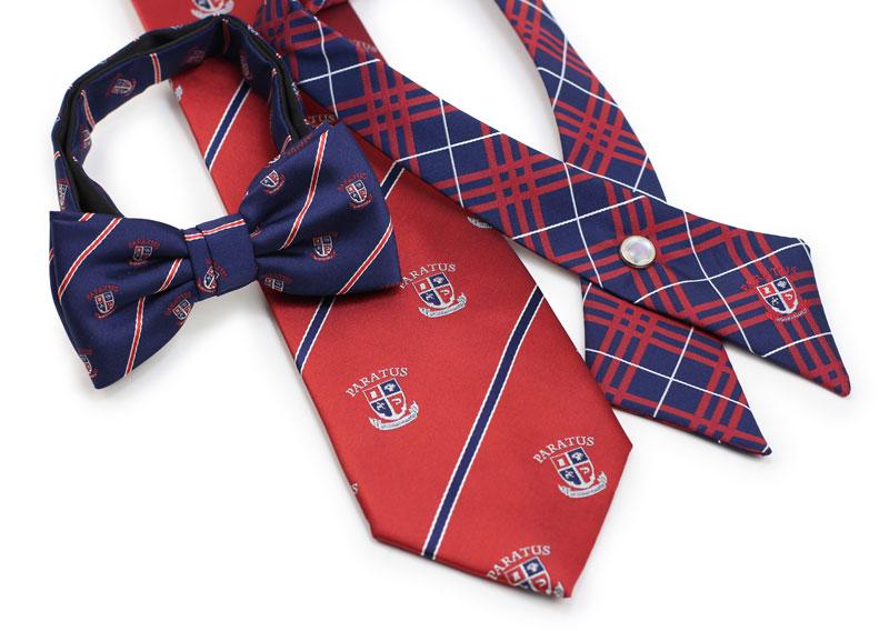 custom school uniform ties