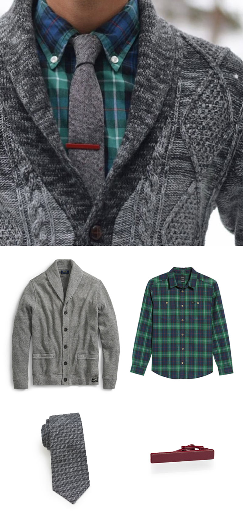 Dress Up For the Holiday with this Inspirational Mens Look