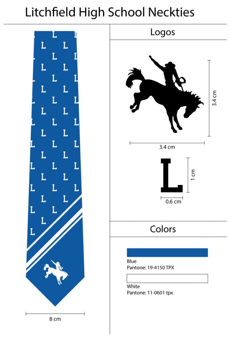 modern custom neckties with logos