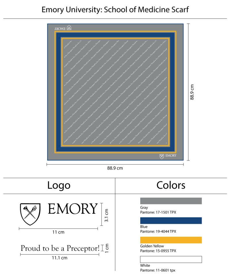 958a8968dea0 Custom University Necktie with Logo and Text Custom printed ladies scarves  for university