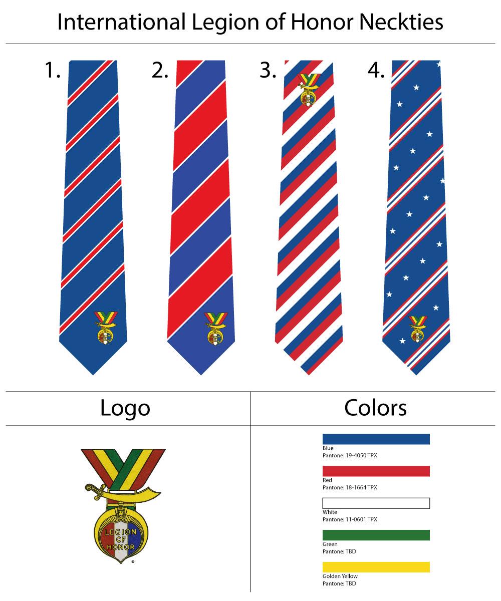 custom patriotic mens neckties