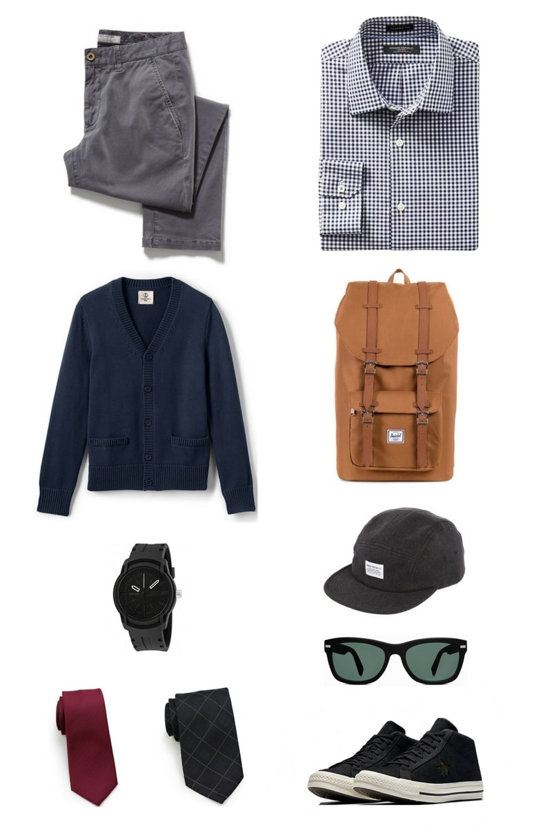 Men's School Fashion Must-Haves