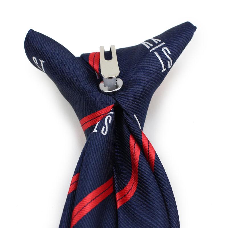 custom repp striped logo skinny ties
