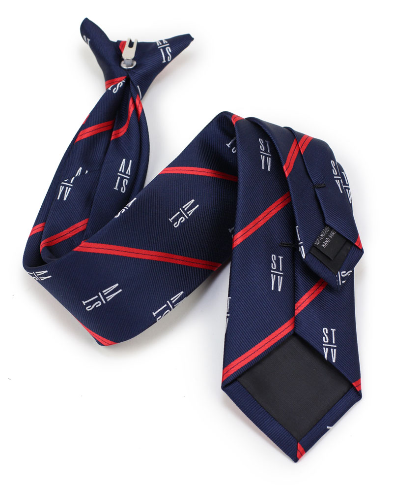 custom clip-on mens ties