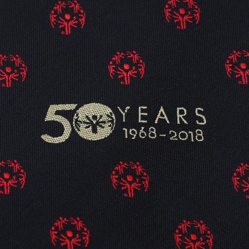 custom embroidered logo fabrics for neckties