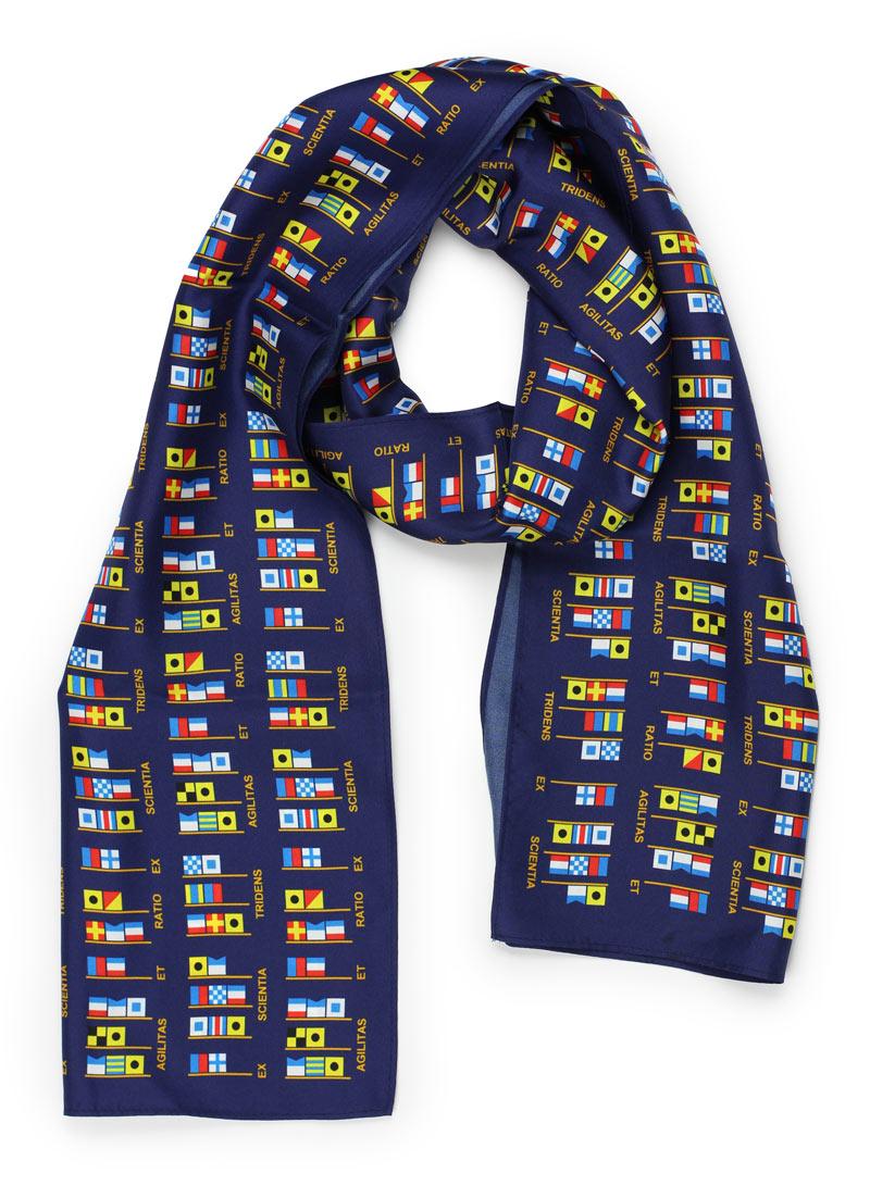 custom elongated womens silk scarves