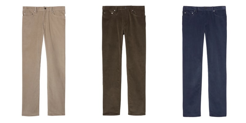 Men's Corduroy Pants for Winter