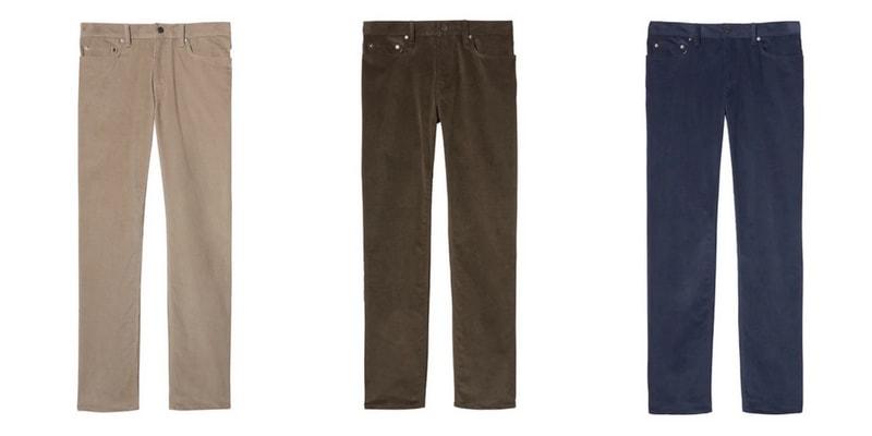 Men's Corduroy Pants for Winter