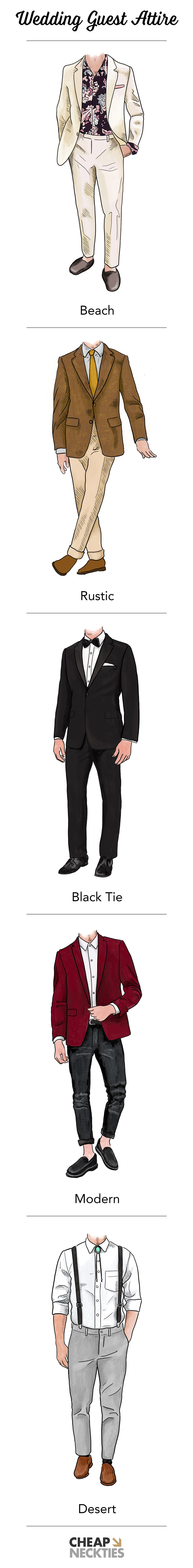 Men's Guide to Wedding Guest Attire