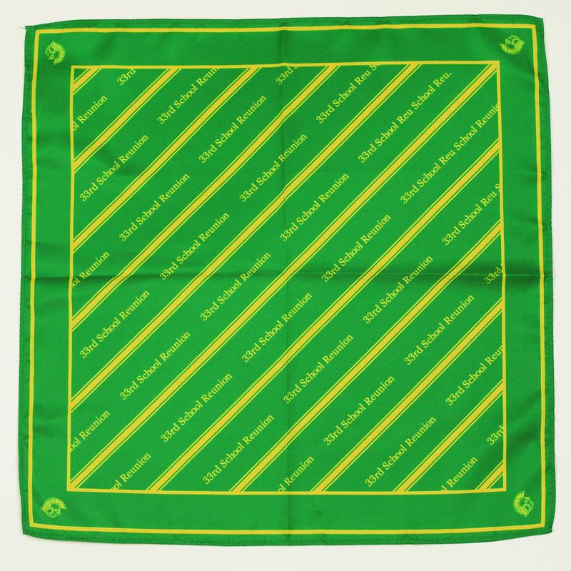 custom pocket squares with logo