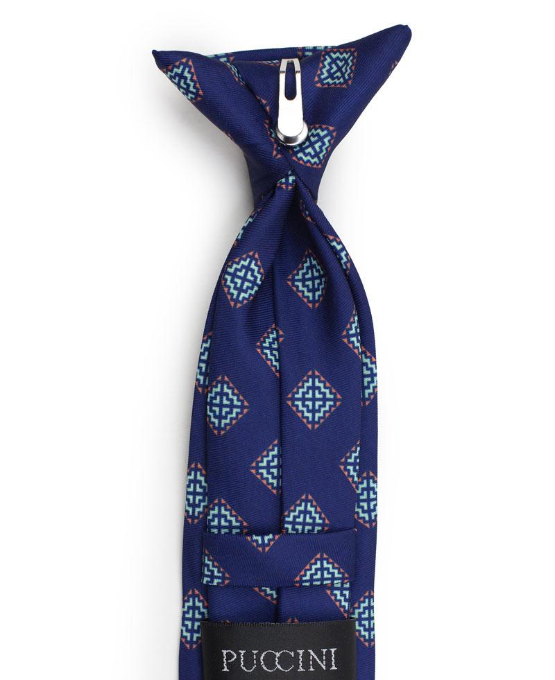 Custom boys clip on neckties
