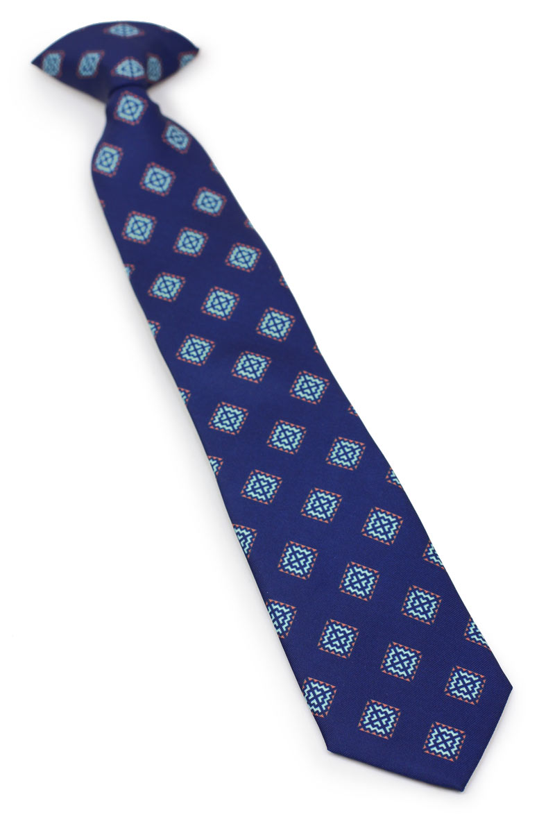 custom clip on ties for boys and kids