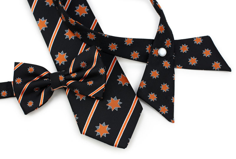 custom school cross ties and neckties