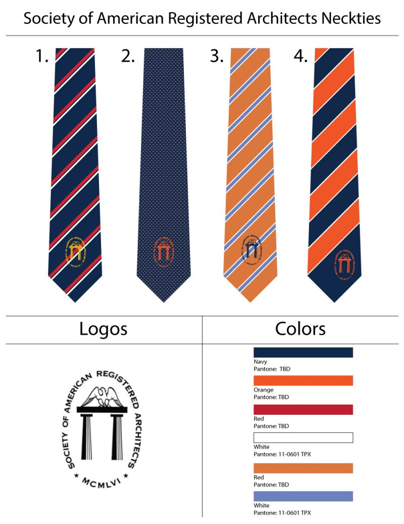 custom logo ties designs