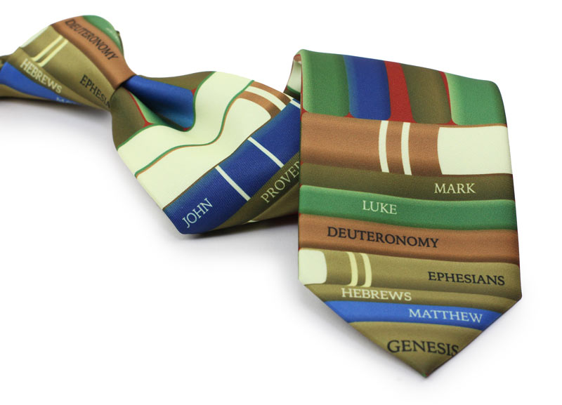 custom religious themed necktie