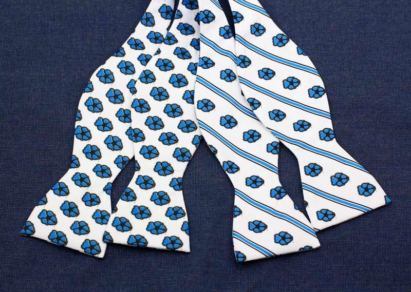 custom self-tied bow ties